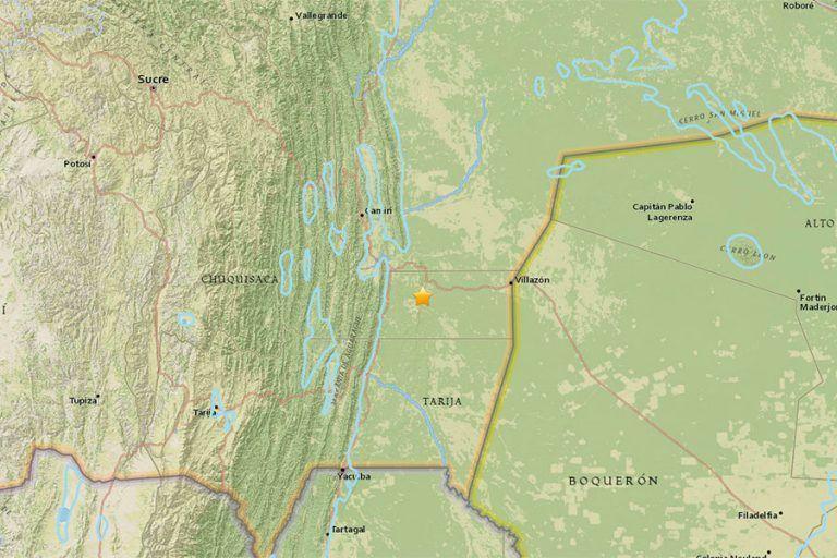 Fuerte sismo en Bolivia, percibido en Chile y Brasil