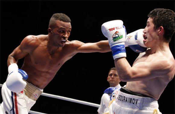 Por la revancha boxeador cubano en duelo Cuba-Francia