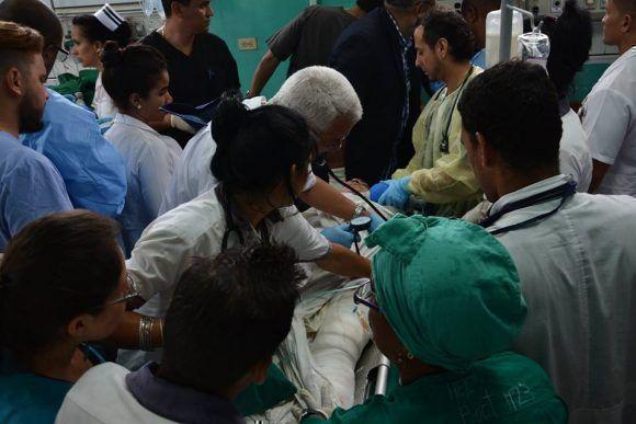 Tres sobrevivientes en accidente aéreo de Damojh en La Habana