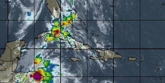 Instituto de Meteorología: Continuarán las lluvias en Occidente y Centro de Cuba
