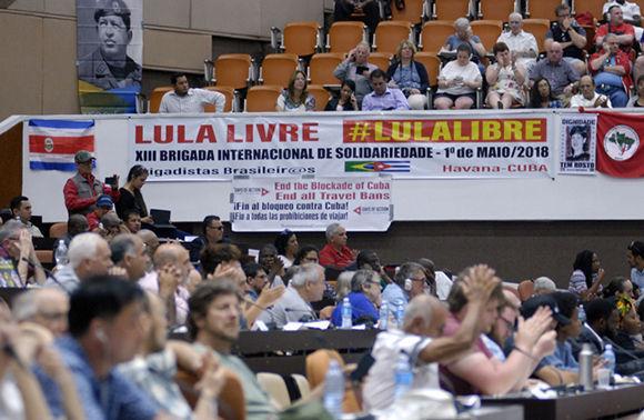 Encuentro Internacional de Solidaridad con Cuba sesiona en La Habana
