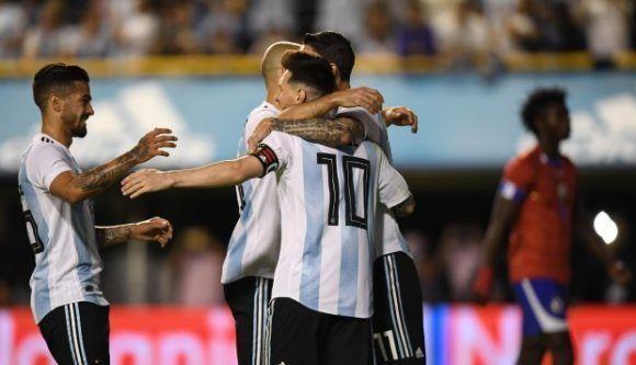 El probable 11 inicial de Argentina para enfrentar a Haití
