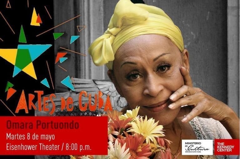 Omara Portuondo will open the Festival of the Arts in Washington