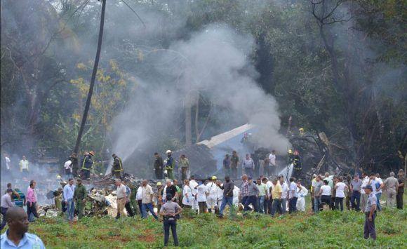 Identificada la segunda caja negra del Boeing 737 accidentado en La Habana