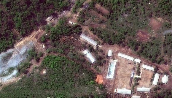 Así fue el cuestionado desmantelamiento de un centro de pruebas nucleares norcoreano