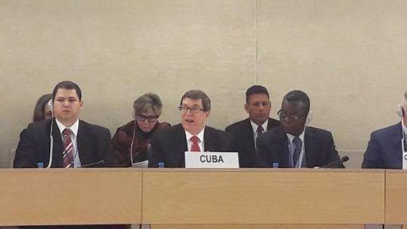 Cuba presentará hoy en Ginebra informe sobre derechos humanos