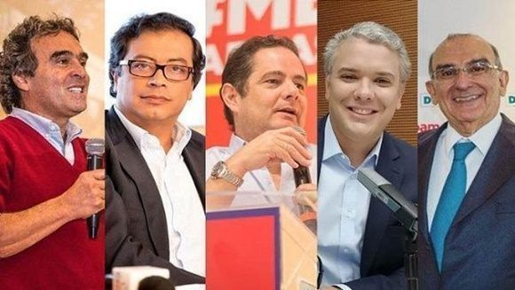 Colombianos eligen este domingo a su próximo presidente