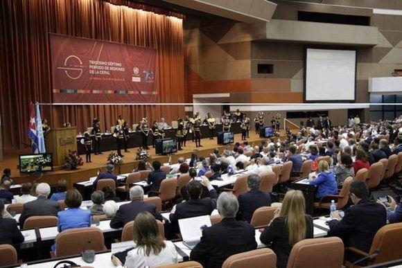 Cuba asume presidencia pro tempore de la CEPAL