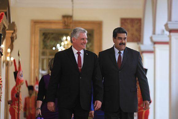 Miguel Díaz Canel asistirá a juramentación de Nicolás Maduro