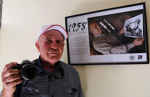 """Perfecto Romero inaugura exposición fotográfica """"1958"""" en Camagüey"""