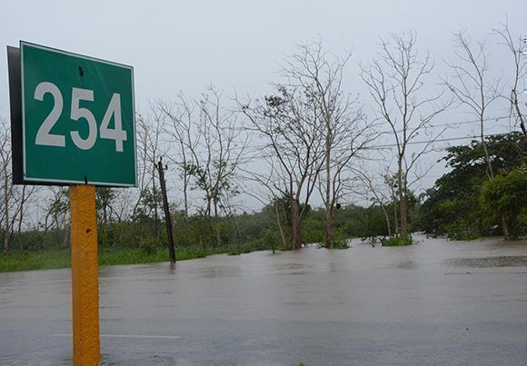 En fotos, inundaciones en el centro de Cuba