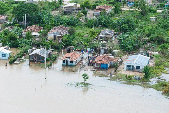Intensas lluvias en Cuba dejan siete muertos y dos desaparecidos
