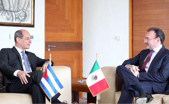 Sostienen Cuba y México diálogos sobre relación bilateral