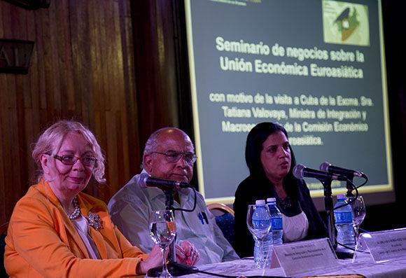 Firman Cuba y Comisión Económica Euroasiática memorándum de entendimiento