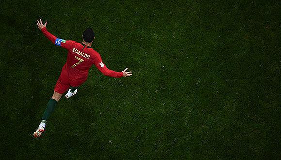 Cristiano Ronaldo logra empate portugués ante España
