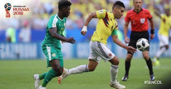 Colombia vence a Senegal y clasifica para la siguiente fase