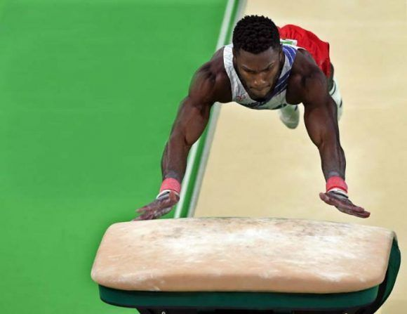 Cuban gymnast Larduet wins three gold medals in World Cup