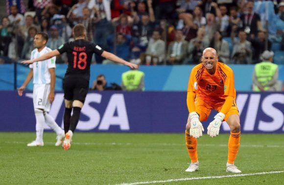 Croacia golea a Argentina 3-0 en Copa Mundial de Fútbol