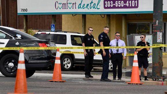 Estalla un tiroteo en la consulta de un dentista en Colorado