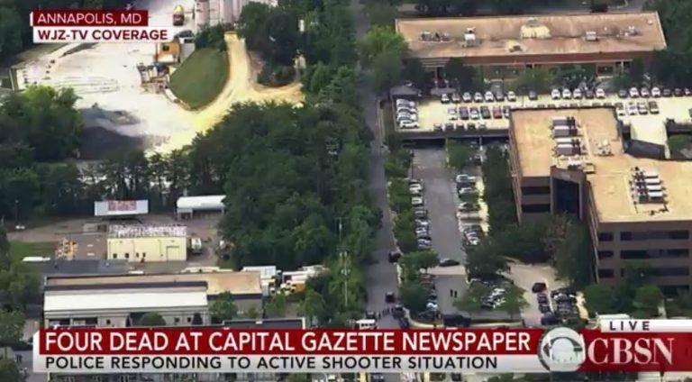 Varios muertos y heridos por tiroteo en periódico de EE.UU.