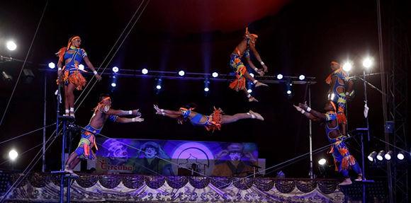 Compañía Habana represents Cuba in Chinese Circus Festival