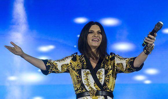 Cumple su sueño Laura Pausini