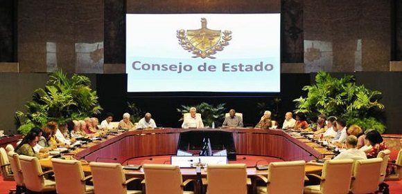 Sesionó en La Habana reunión del Consejo de Estado