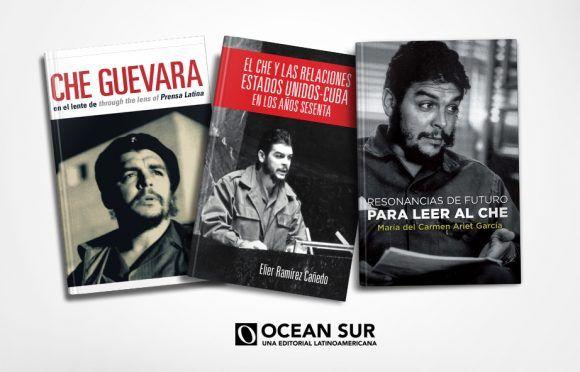 Ocean Sur propone nuevos títulos en homenaje al Che