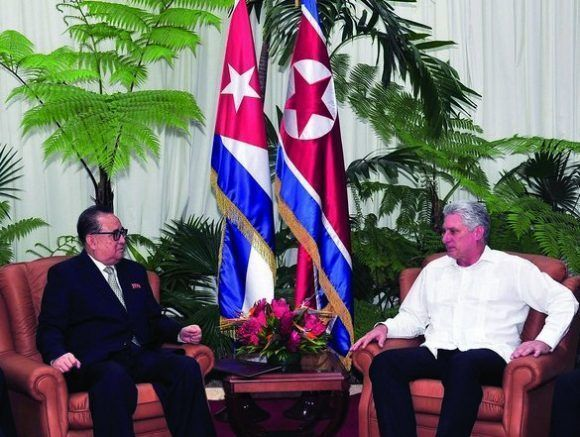 Cuba: Diaz-Canel receives Vice President of Workers' Party of Korea