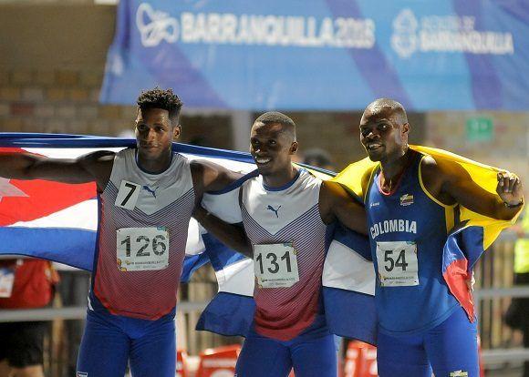 Decatlonista Leonel Suárez conquista otro oro para Cuba en Barranquilla