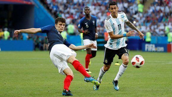 El gol más bonito del Mundial fue el de Pavard contra Argentina