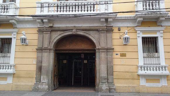Sobrecoge ver el portón que hace mas de 100 años estaba siempre abierto a aquellas tertulias donde se encontraban José Martí y María Cristina. Foto: Susana Tesoro/ Cubadebate