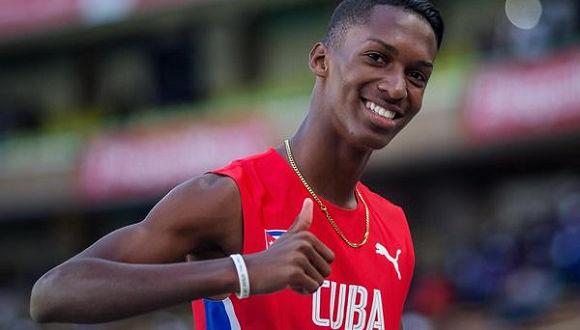 Cubano Díaz entre finalistas al premio Estrella Naciente de la IAAF