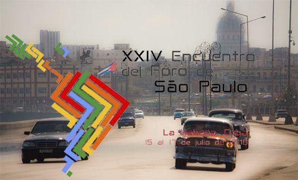 ¿Qué ocurrirá en el Foro de Sao Paulo en La Habana?