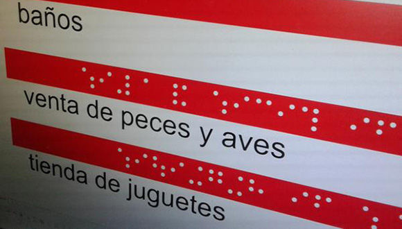 Textos en en Braille