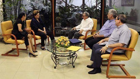Autoridades cubanas se reunireon con líderes de la región