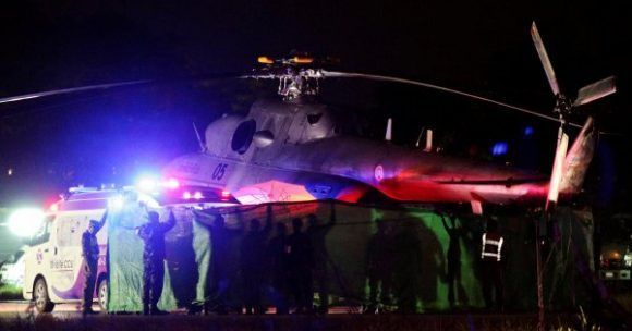 Confirman que ya son ocho los rescatados de la cueva en Tailandia