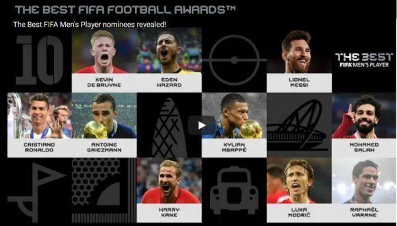 Messi, nominado por la FIFA al mejor jugador del año