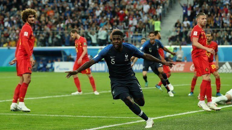 Gol de Umtiti pone a Francia en la final del Mundial de Fútbol
