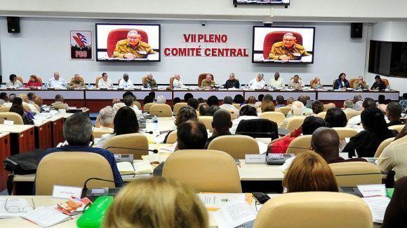 VII Pleno del Comité Central del Partido Comunista de Cuba analizó Anteproyecto de reforma constitucional