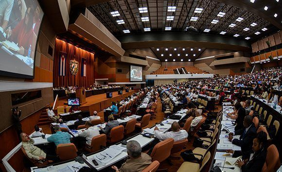 Concluye Parlamento cubano jornada de trabajo de este sábado
