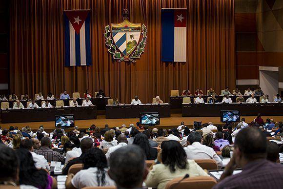 Asamblea Nacional convoca a consulta popular Proyecto de Constitución de la República