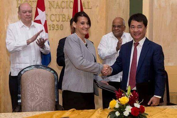 Cuba y Vietnam constituyen empresa para parque industrial en la Isla