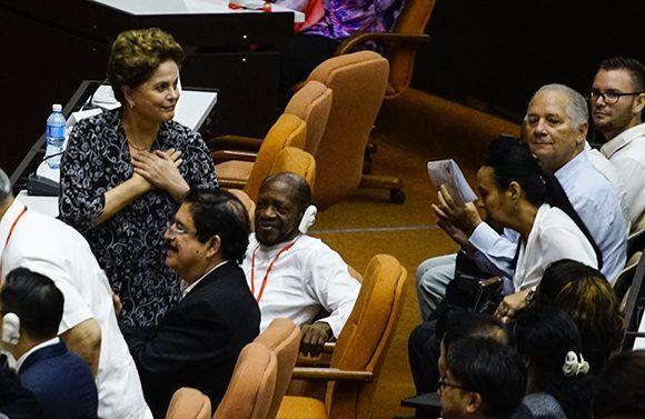 Dilma Rousseff: Lula cumple cien días como prisionero político (+ Video)