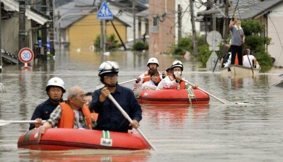 Asciende a 157 el número de muertos por lluvias torrenciales en Japón