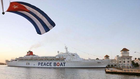 Arribará a La Habana el Barco de la Paz