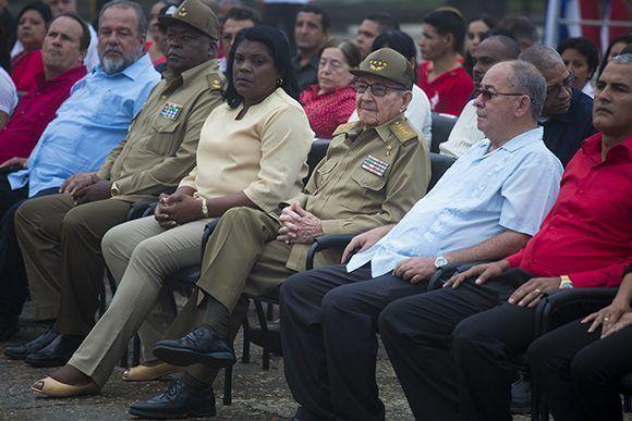 Raúl Castro preside acto provincial por el 26 en Segundo Frente