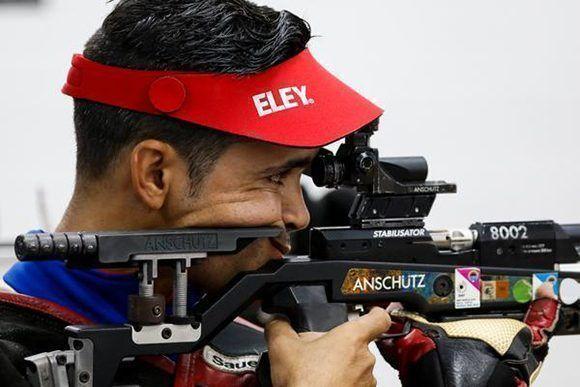 Participa el camagüeyano Guillermo Pías en Copa del Mundo de Rifle y Pistola