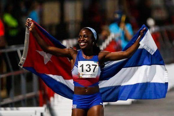 Camagüeyana Rosemary Almanza, principal figura de Cuba en el Atletismo de Barranquilla