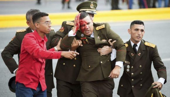 Avanza investigación sobre atentado con drones contra Nicolás Maduro, hay 19 detenidos (+ Videos)